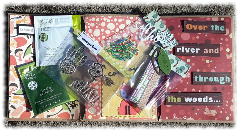 Reçu d'Heidi, Cards and Stamps Addicts - 5