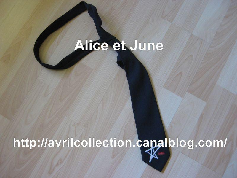 Cravatte Avril Lavigne-période Let Go