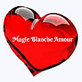Magie blanche d'amour