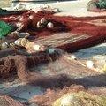 Filets de pêcheurs à Hvar 26 janvier 2015