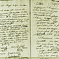 Le 23 juillet 1789 à mamers : assemblée du général des habitants.