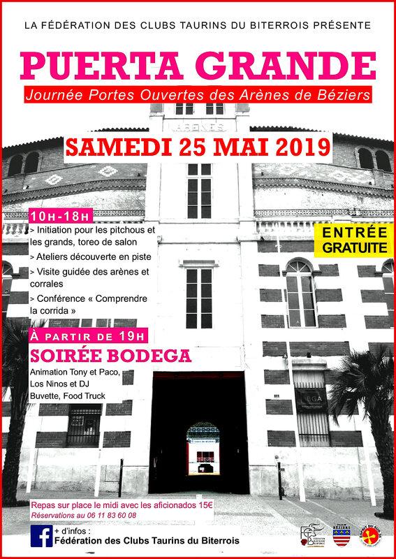 Puerta Grande - Affiche 25 mai