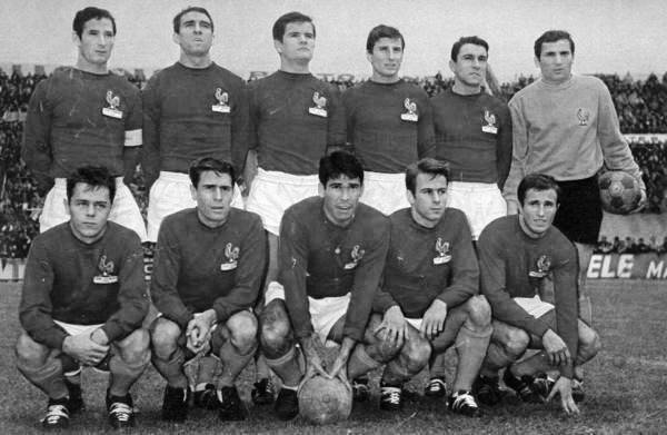 1965 11 06a Equipe France Luxembourg R