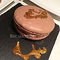 Macarons mascarpone et chocolat stracciatella