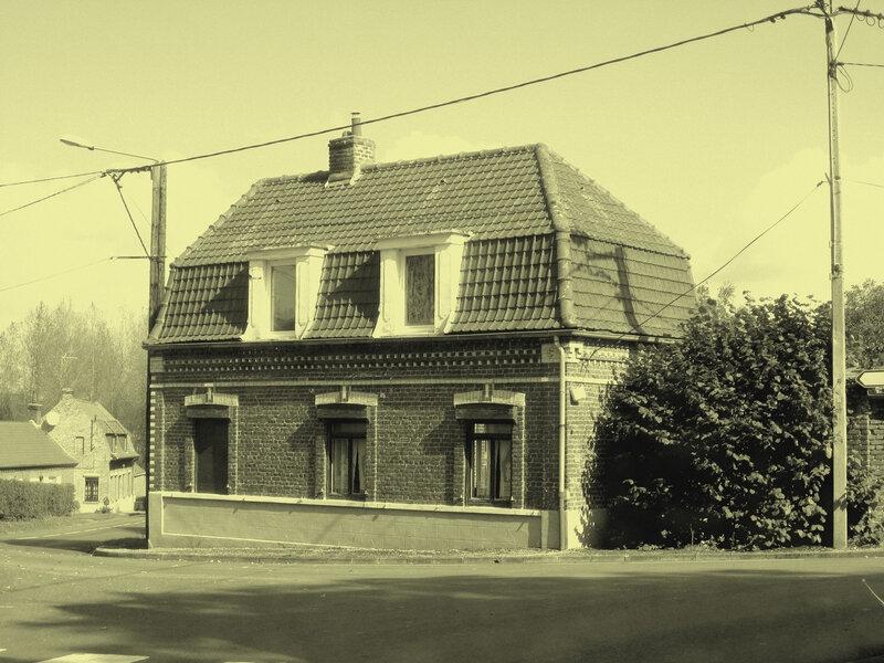 maison, photo ancienne