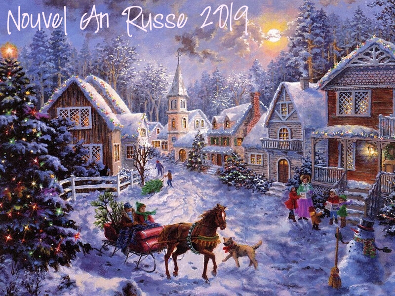Nouvel an russe 2019