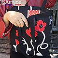 8B- Tote bags Cabas sacs Couture ISAmade