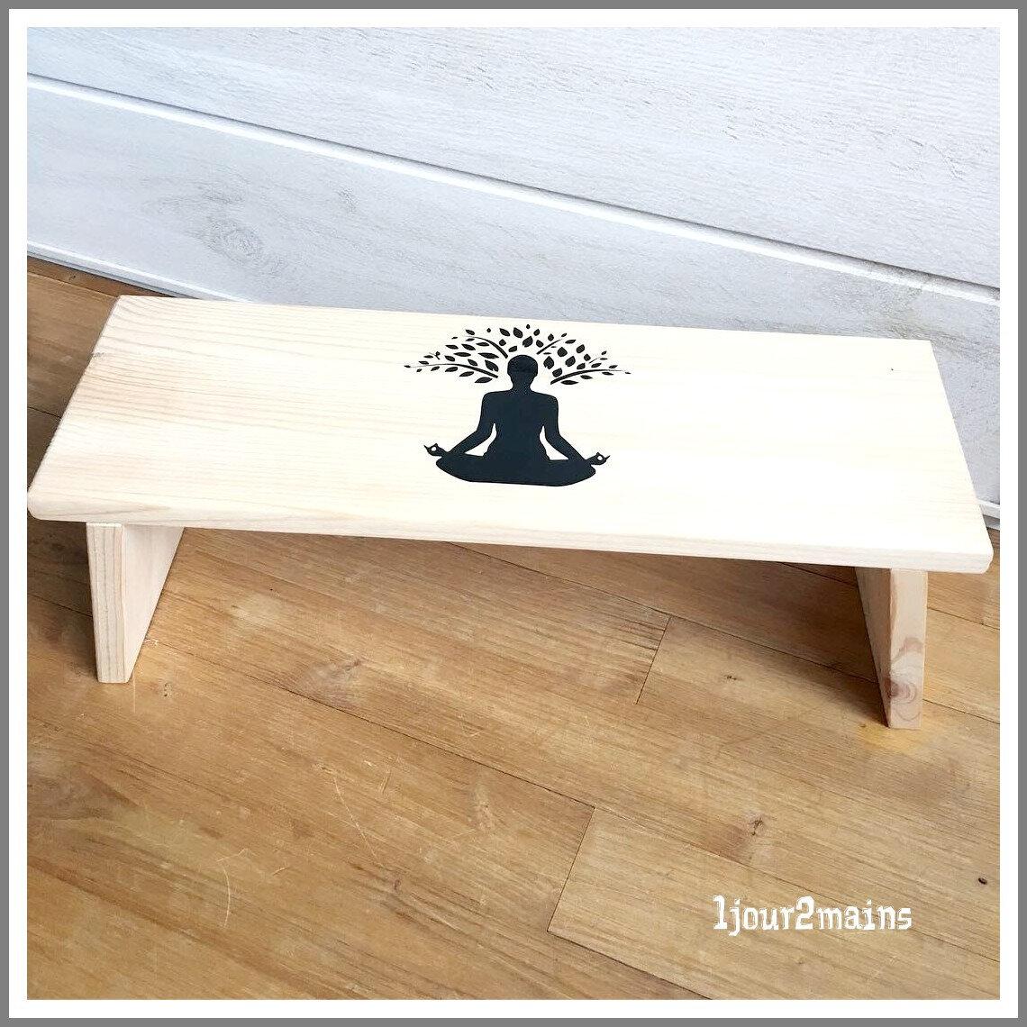 Banc Yoga Vinyl Noir Photo De Flex Vinyl Caméo 1 Jour 2mains
