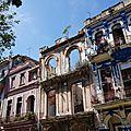 28. La Havane - façades sur l'avenue del Prado