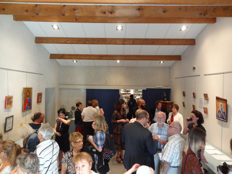 vernissage du 15 septembre 2018