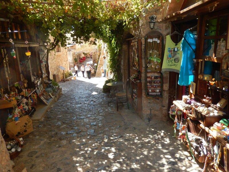 Monemvasia la byzantine rue principale