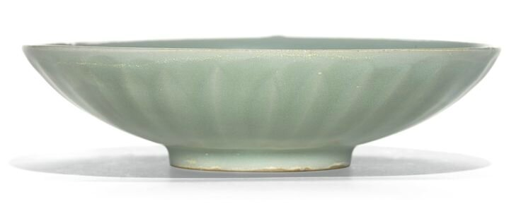 A 'Longquan' celadon 'Lotus' dish, Southern Song dynasty