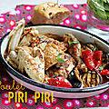 Un livre, une recette #16: poulet piri piri