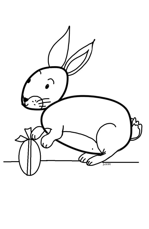 paques lapin