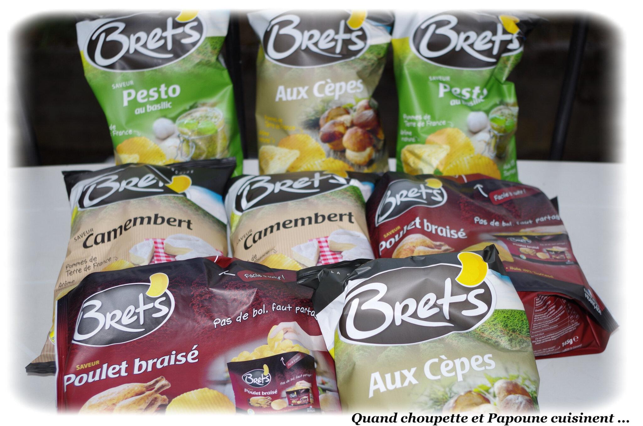 ENCORE UN COLIS CETTE SEMAINE : LES CHIPS BRET'S