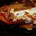 Lasagne de pain aux courgettes