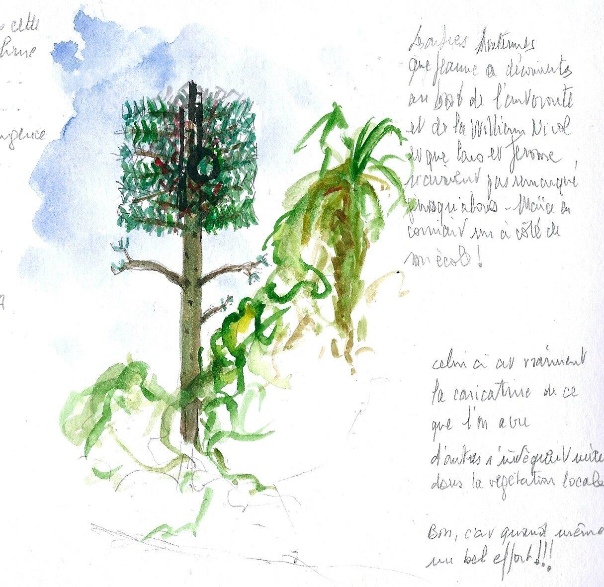 l 'arbre antenne