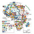 Corporate ownership of oil in Africa
