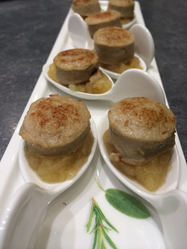 bouchees boudin