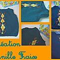 pull tricoté en laine