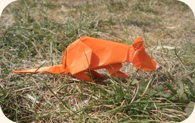 Origami Zoo - Souris