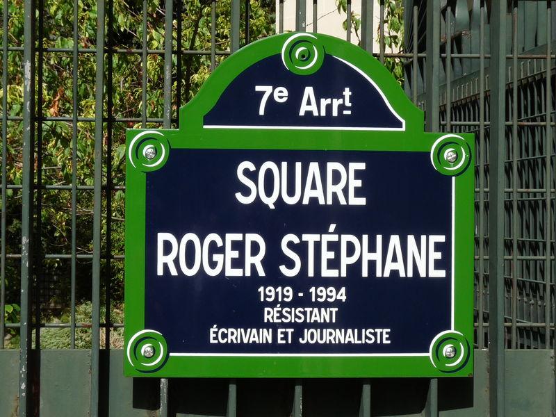 Square R. Stéphane (ex. square Récamier)