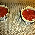 Tarte tomates jambon gruyere