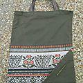Défi recyclage #3 - le sac de course pliable