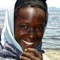 Lac Shalla : Jeune fille