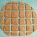 Biscuits diététiques sans gluten au chi-café avec teff souchet amarante bambou (sans sucre ni oeuf ni beurre, riches en fibres)