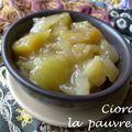 Chutney mangue - poire