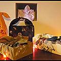 Emballage cadeau en tissu - furoshiki