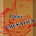Le mois de ... chloé chevalier (2)