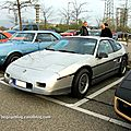 Pontiac fiero GT (Rencard burger king avril 2012) 01