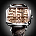 Montre playground labyrinth - hautlence - + video