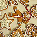 Faux biscuits de Noël