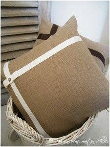 Coussin Noeud (blanc)