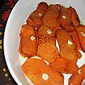 Potiron frit saveur aigre -doux