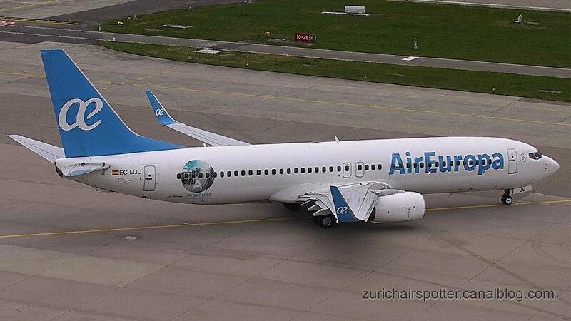 Boeing 737-85P(WL) Argentina (EC-MJU) Air Europa