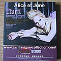 CD compilation Avril Ramona Lavigne Keep Holding On-Asie (2010)