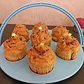 Cupcakes au beurre de cacahouètes