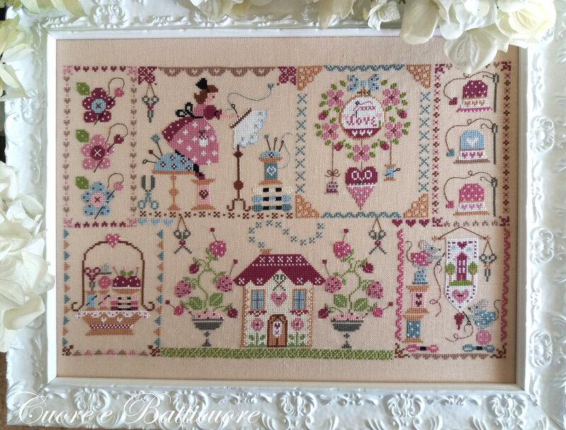 stitching in quilt 1