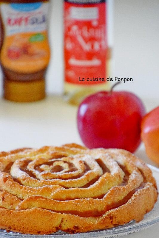 gateau aux pommes et blancs d'oeufs (15)