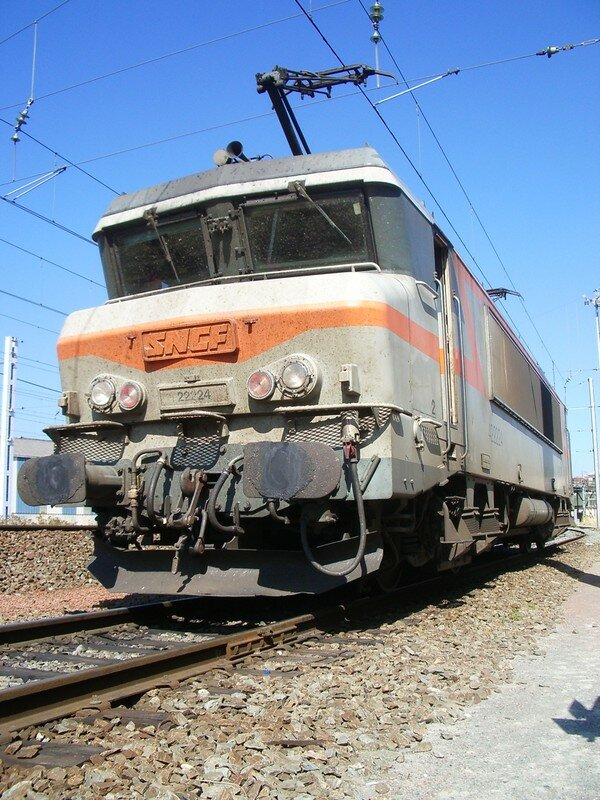 BB 22 224 (Bi-courant) à Bordeaux