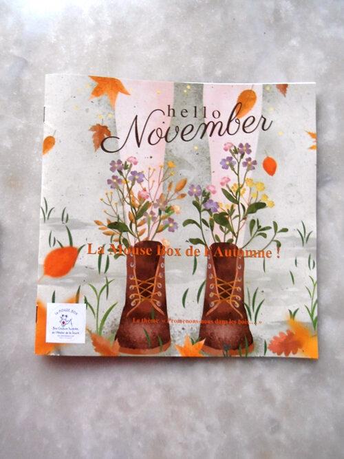 Box d'automne - Livret