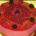 Bavarois aux fruits rouges