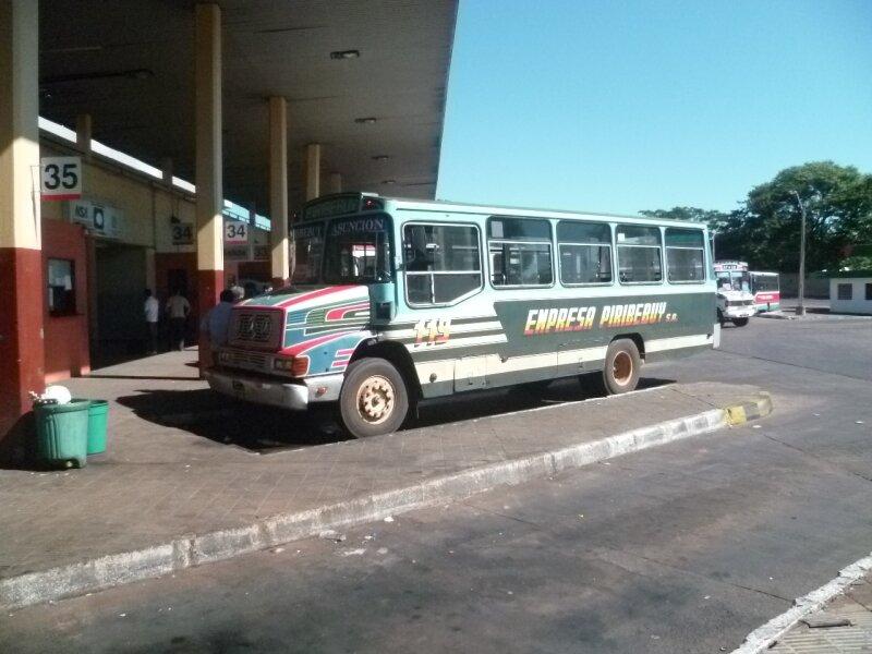 Au terminal notre bus personnel