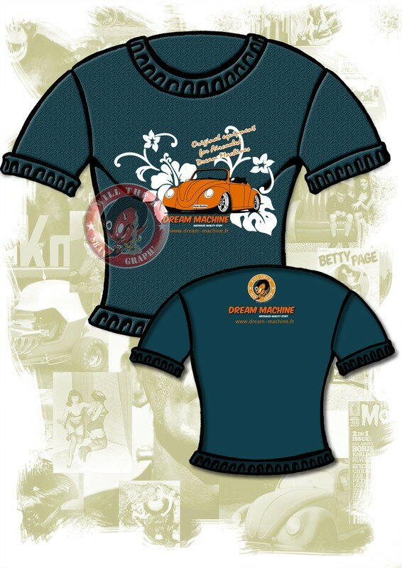 T-shirt plus relax style hawai