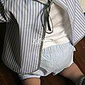 Tablier-blouse