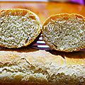 Baguettes de pain améliorées